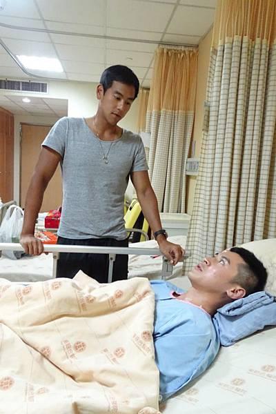 陳家樂與曾一起訓練數周的彭于晏建立了深厚友情