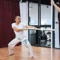 王祖藍為動作戲花費近兩個月訓練棍術