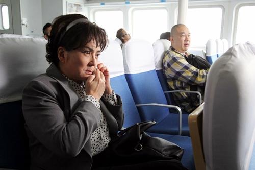 香港影后級巨星馮寶寶在《媽咪俠》中有許多內心戲演出 2