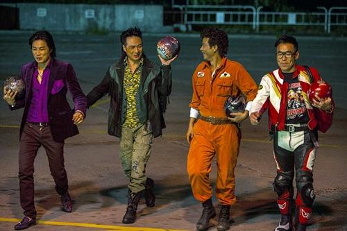 香港演技派演員吳鎮宇、任達華、譚耀文、鄭浩南 在《衝鋒車》中大飆演技 瘋狂演出(3)