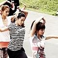 郭書瑤在《舞鬥》率領一群新生代演員 溫貞菱、盧芃宇、詹博翔等人 一同練舞熱血賣力演出