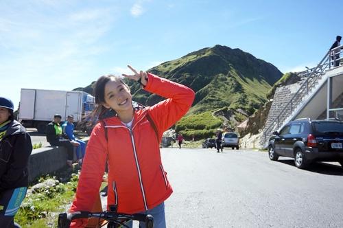 歐陽娜娜進《破風》劇組的第一天 在寒冷的武嶺拍攝 1
