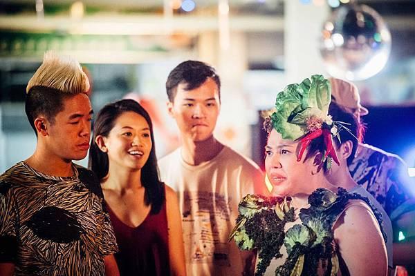 新加坡饒舌歌手希克旋 在戲中演劉玲玲兒子 更大唱饒舌rap.jpg