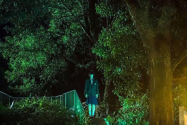 劇組特地到香港最知名的猛鬼學校-達德學校進行拍攝2.jpg