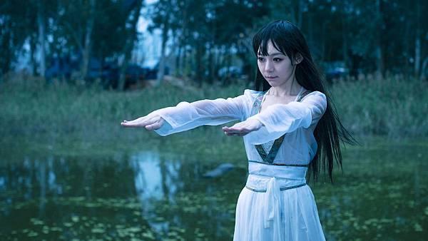 林明禎戲中長髮女殭屍造型 1.JPG