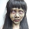 林明禎為戲畫可怕鬼妝 1.jpg