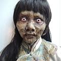 林明禎為戲畫可怕鬼妝 2.jpg