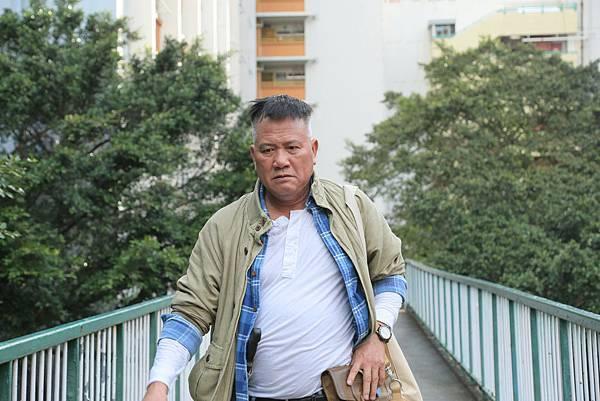 金馬影帝萬梓良復出拍攝《今晚打喪屍》2.JPG