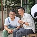 白只與張繼聰是多年好友 首度合作電影《今晚打喪屍》.JPG
