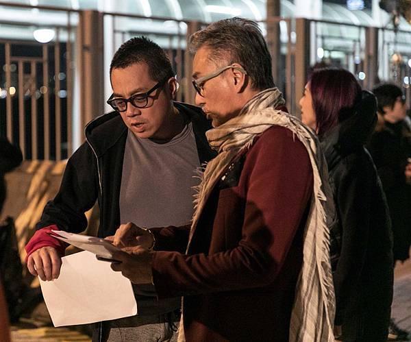 導演彭浩翔(左)喜歡五月天歌曲「志明與春嬌」 才引發拍攝此系列電影1.jpg