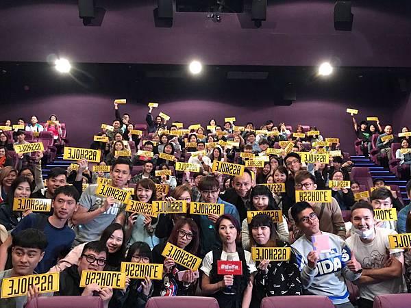 楊千嬅與邵音音 戲中母女檔 一同至戲院突擊謝票4.jpg