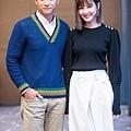 安心亞與陳泂江是新片《簡單的婚禮》男女主角 扮演步入禮堂的情侶.jpg