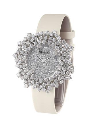 Mimosa含羞草花朵珠寶腕錶