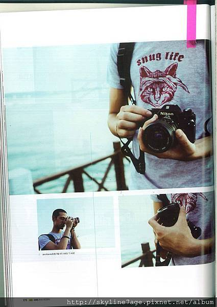 Cool雜誌_貓臉T恤