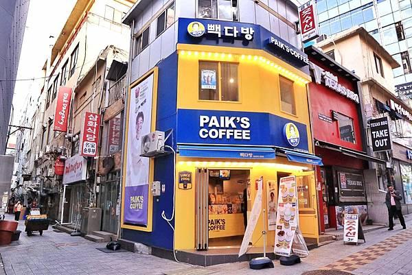PAIK'S COFFEE白鍾元的咖啡廳