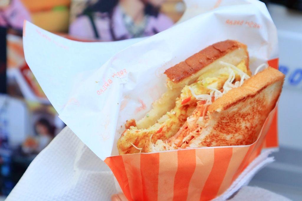 明洞烤麵包漢堡