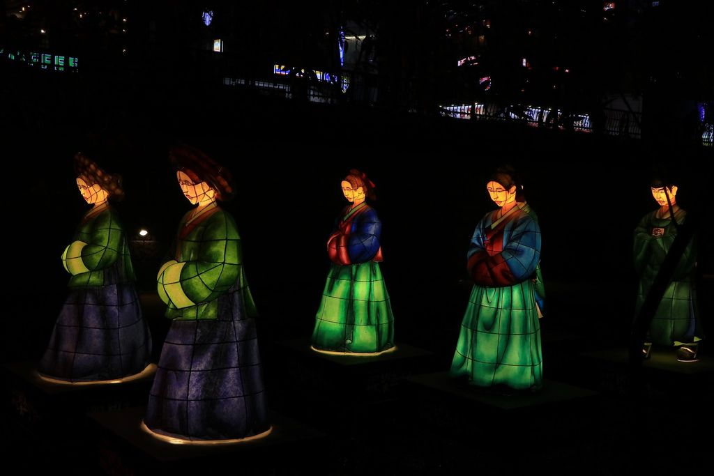 2019首爾燈節(2019 서울 빛초롱축제)