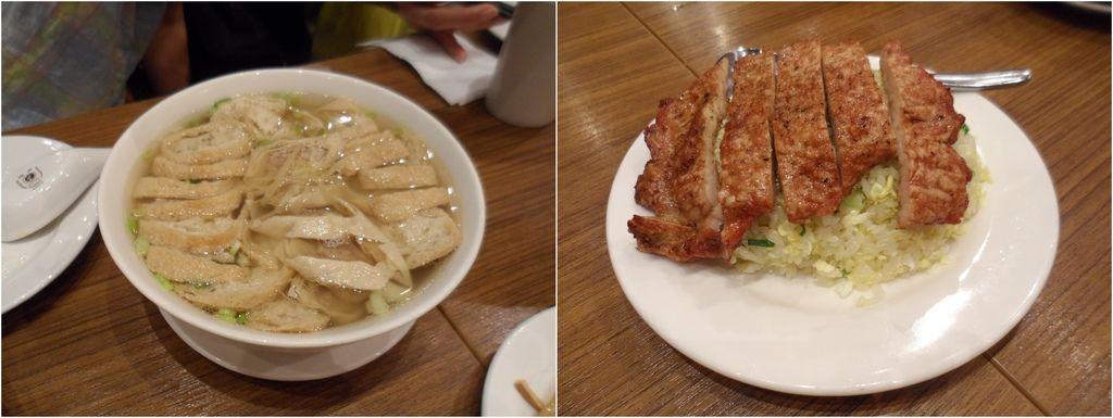油豆腐細粉&排骨蛋炒飯