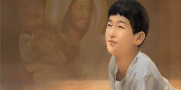攝理教 偉大的少年 鄭明析 牧師 真正的奉獻 愛 神.jpg