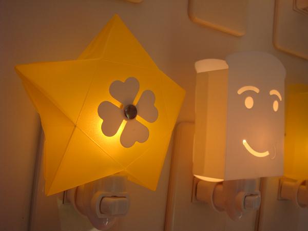 星星造型小夜燈