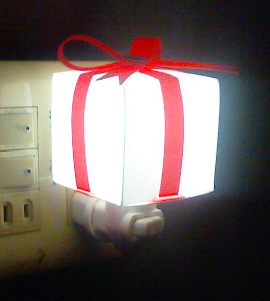 聖誕禮物小夜燈
