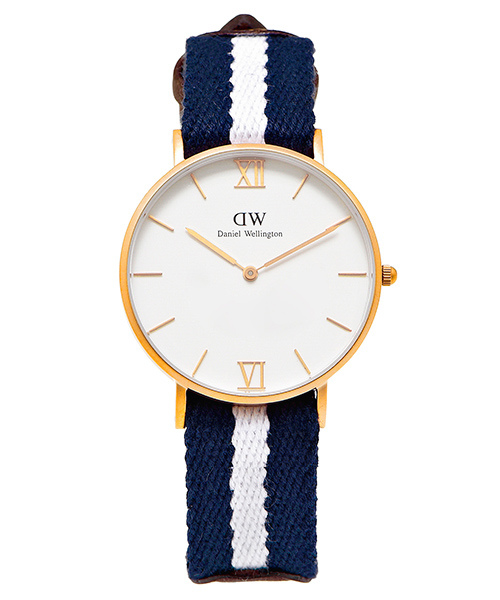 DW Daniel Wellington Grace Glasgow腕錶-白36mm 6300
