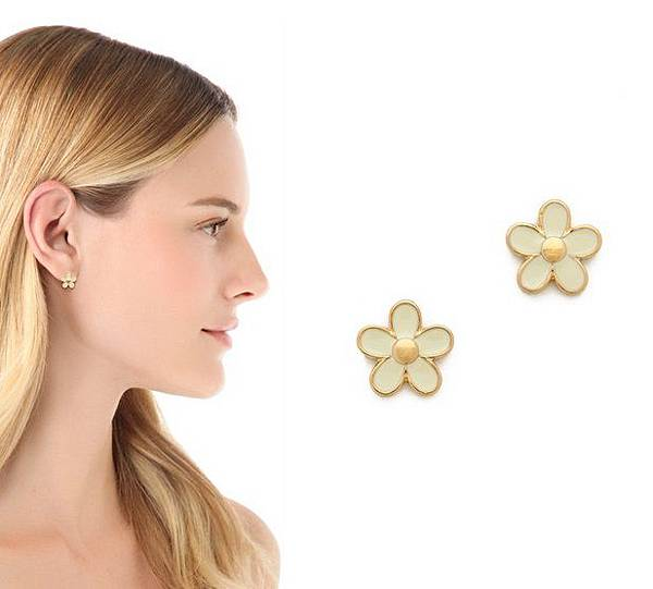 marc jacobs Daisy Stud Earrings $48