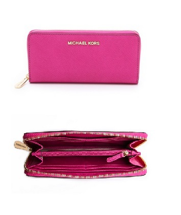 MICHAEL Michael Kors Jet Set Travel Zip Around Continental Wallet $138