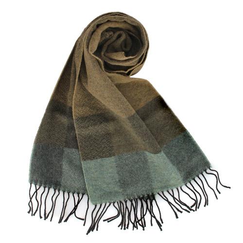 Vivienne Westwood 拼接色塊草寫LOGO羊毛圍巾 2880
