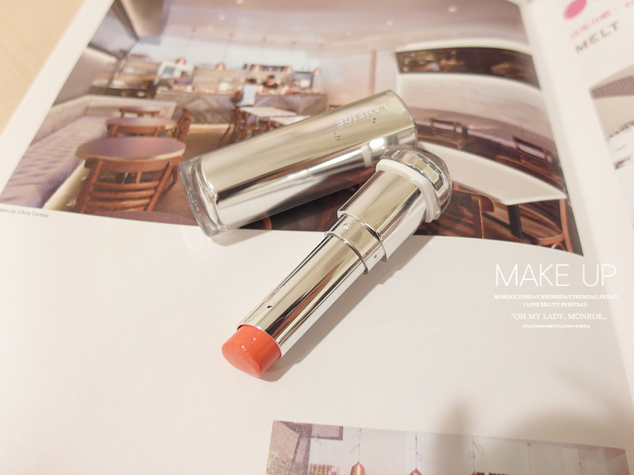 Make up - orange - lipstick - 16 - laneige - serum intense lipstick - yr25 - Neon Orange