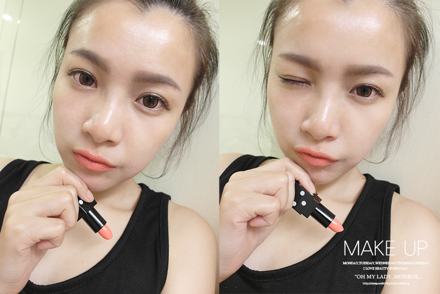 Make up - orange - lipstick - 24 - 3ce - dot lip color - air balloon