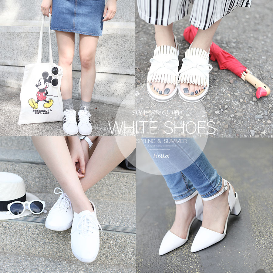 WHITE SHOES OUTFIT 00-1