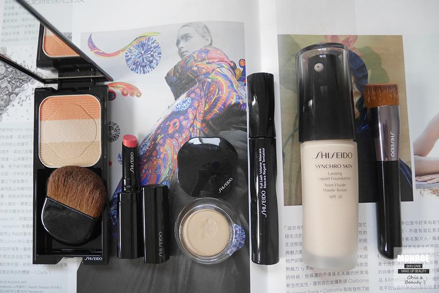 shisedo - foundation - summer makeup - 07