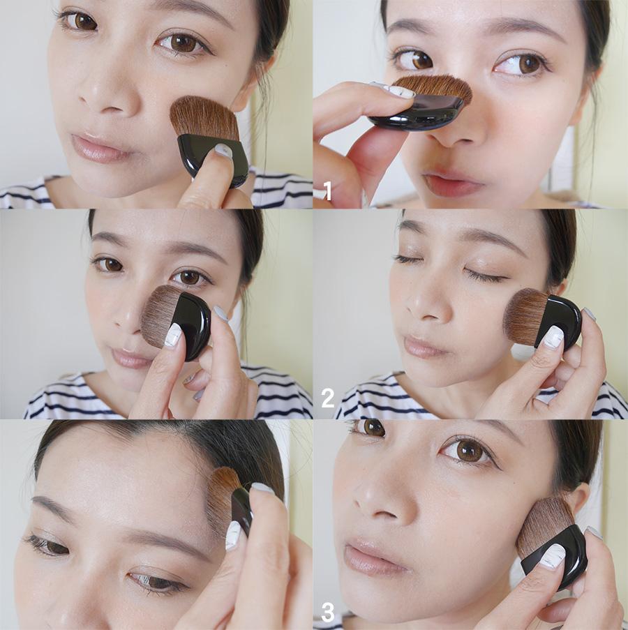 shisedo - foundation - summer makeup - 16