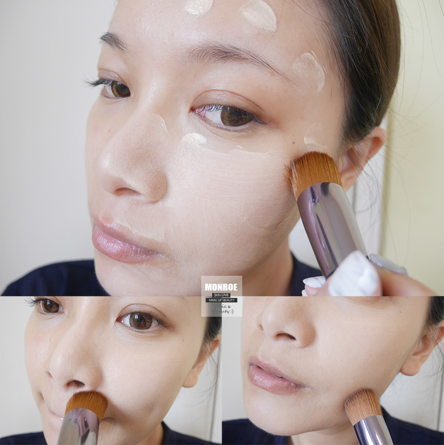 shisedo - foundation - summer makeup - 25