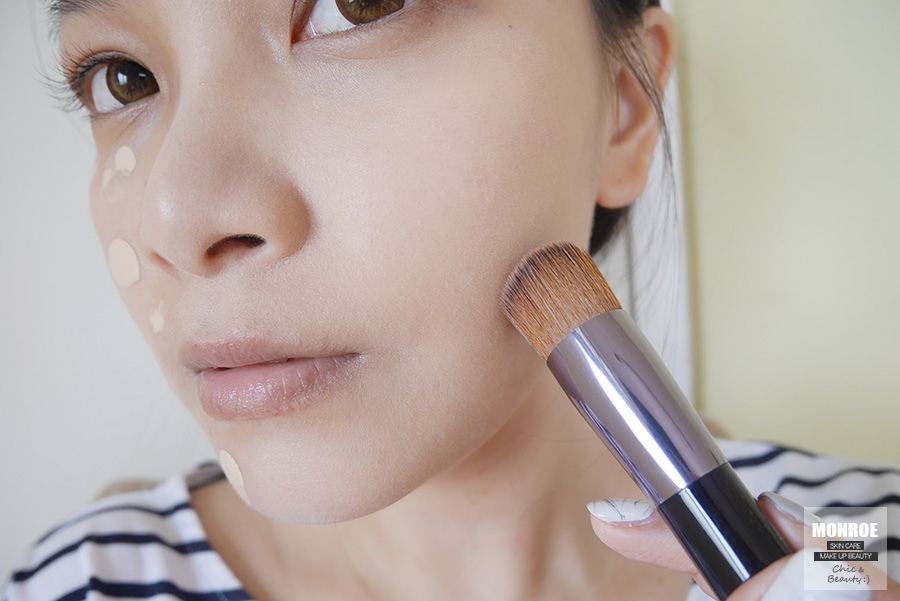 shisedo - foundation - summer makeup - 10