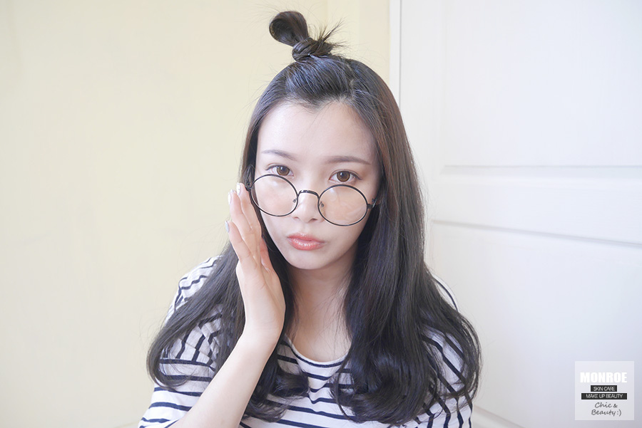 蘋果頭劉海髮型04