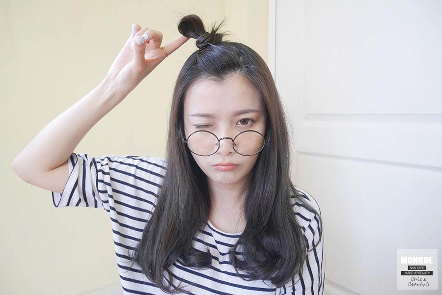 蘋果頭劉海髮型05