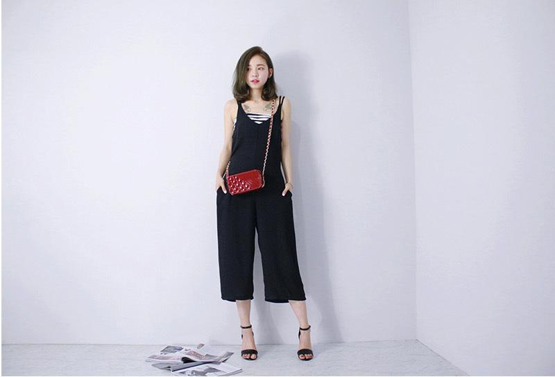 Heart Beat 條紋小可愛+連身寬褲套裝
