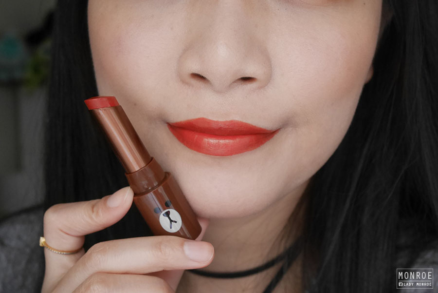 2016 top10 lipstick - 24 MISSHA Line Friends Edition M Matt Lip Rouge MRD02