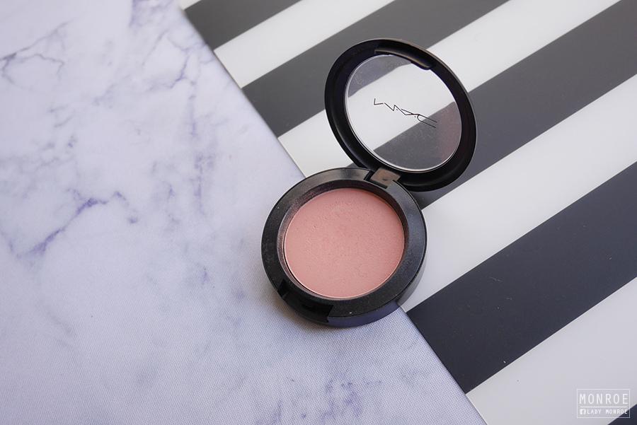 month fav - 02 - mac pro longwear blush - rosy outlook