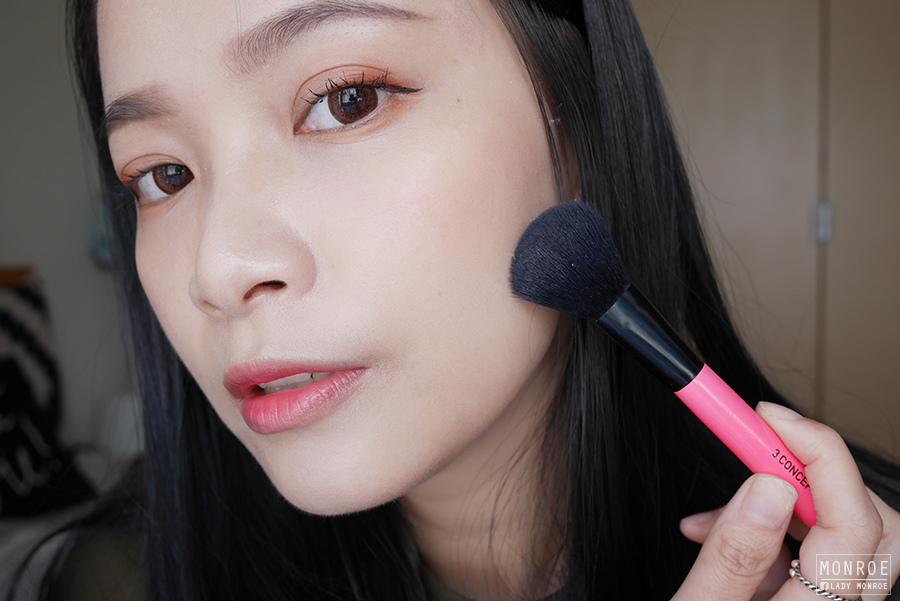 month fav - 03 - mac pro longwear blush - rosy outlook