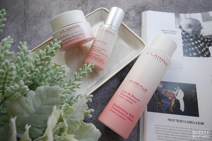 Clarins - white plus - 03