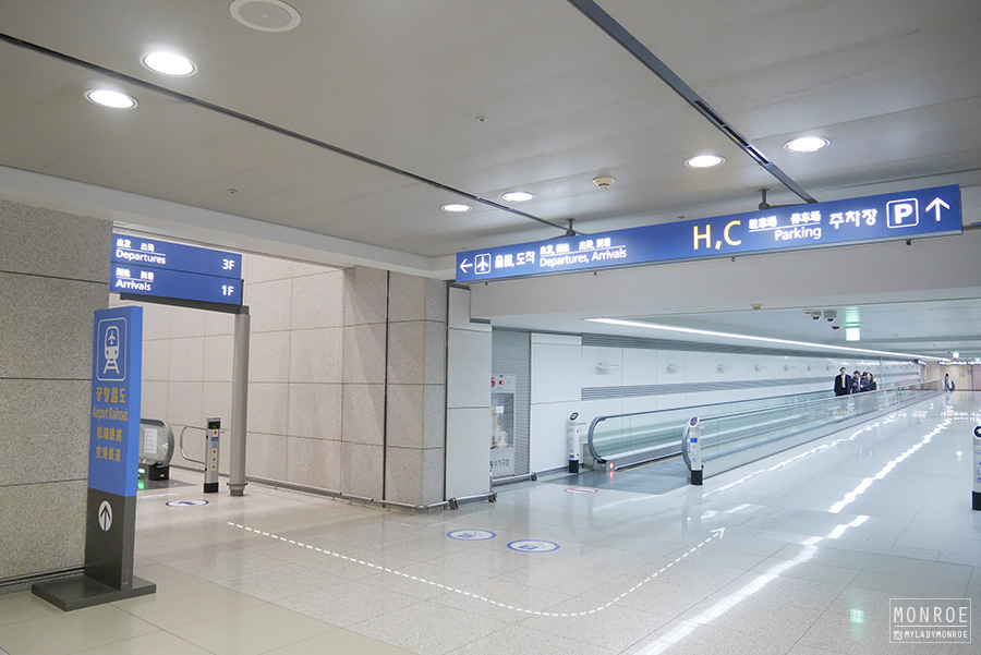 seoul - incheon airport - KTX - 05