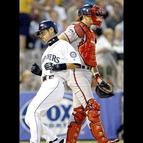 Ichiro in All-Star 2003
