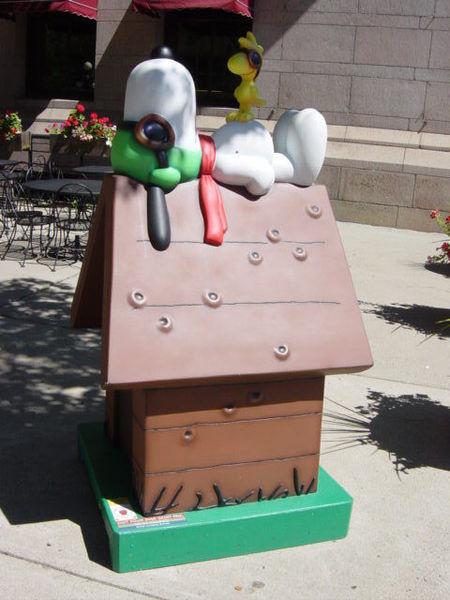 Snoopy Doghouse 7