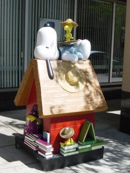 Snoopy Doghouse 23
