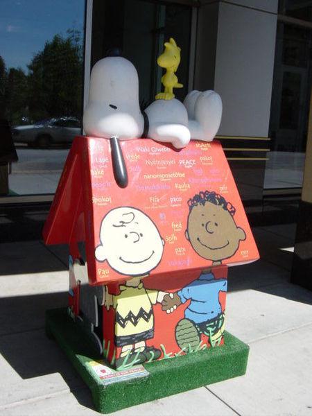 Snoopy Doghouse 24