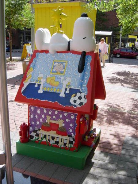 Snoopy Doghouse 43-2
