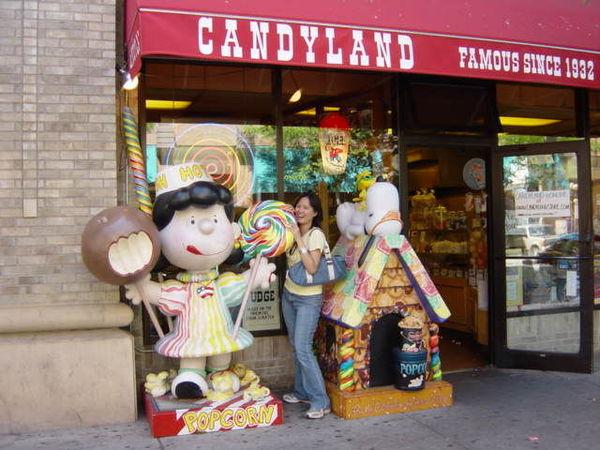 充滿了Caramel香味的糖果店
